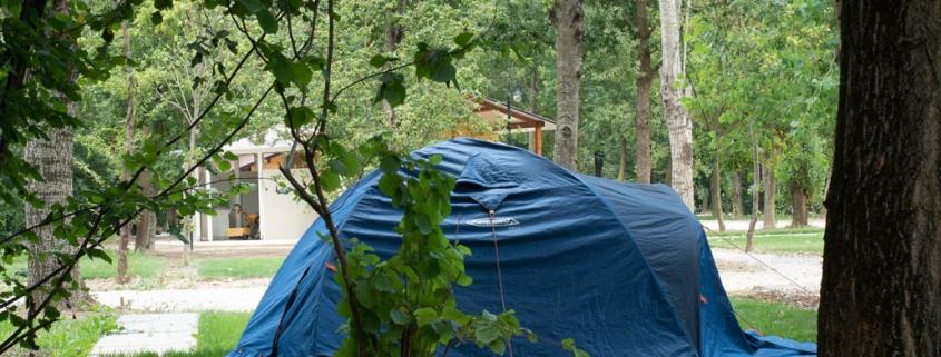 Piazzola per tenda